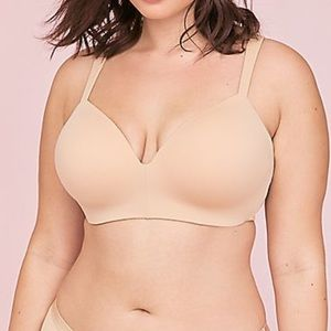 Cacique Nude No Wire Lightly Lined T-Shirt Bra 44C